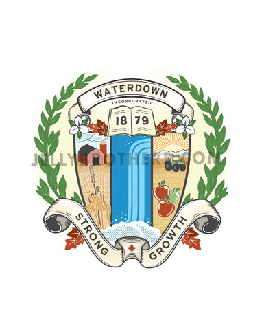 Waterdown Crest - Full Colour Digital Print