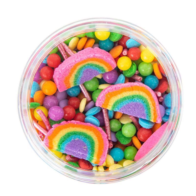 SPRINKS Sprinkle Mix OVER THE RAINBOW 500g
