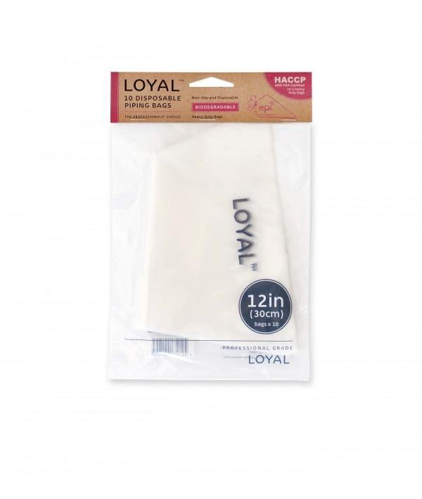 12inch Clear Disposable Biodegradable Piping Bags 10 pack