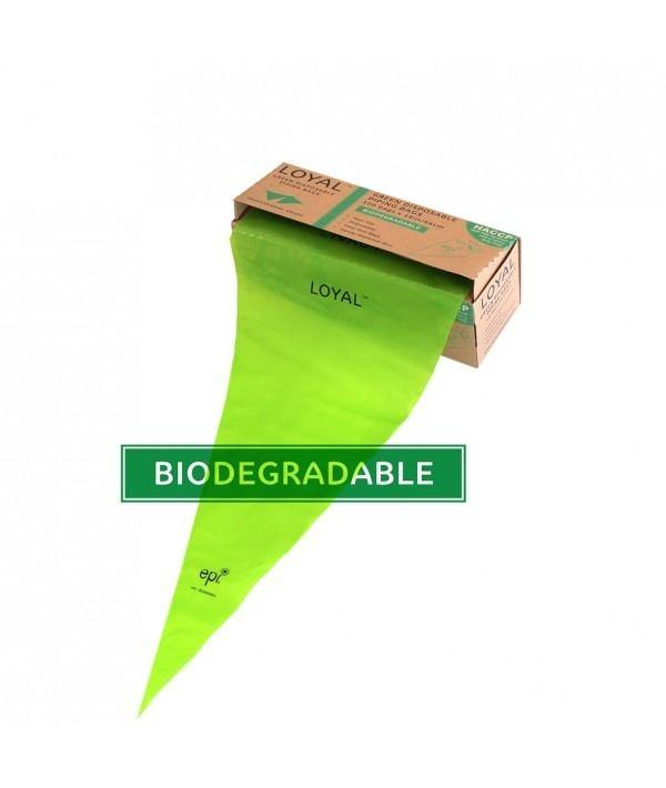 18inch Green Biodegradeable icing bags 100 PACK