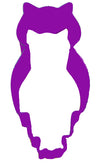 OWL COOKIE CUTTER PURPLE