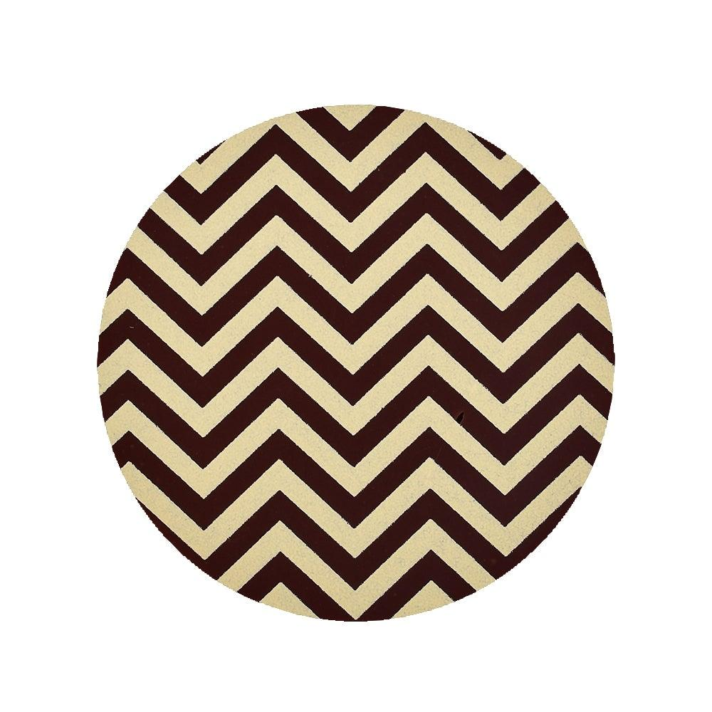 CREAM CHEVRON Chocolate Transfer Sheet