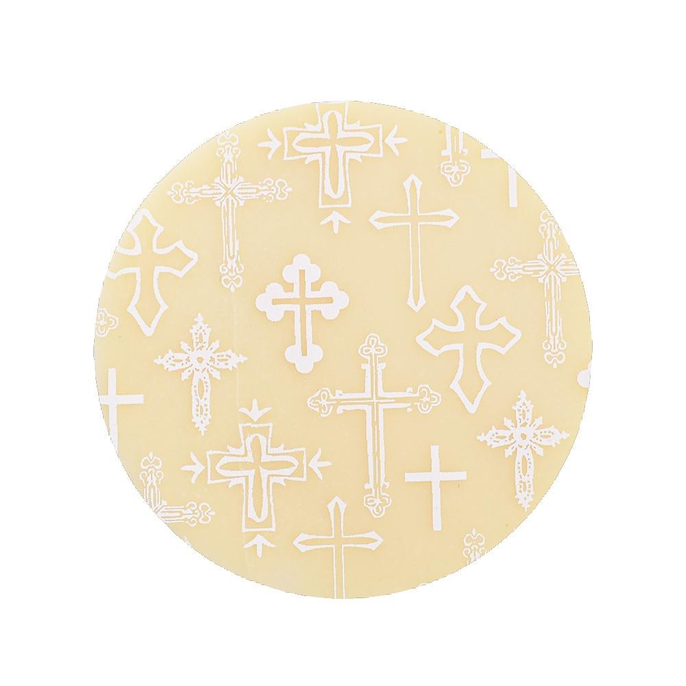 WHITE CROSSES Chocolate Transfer Sheet