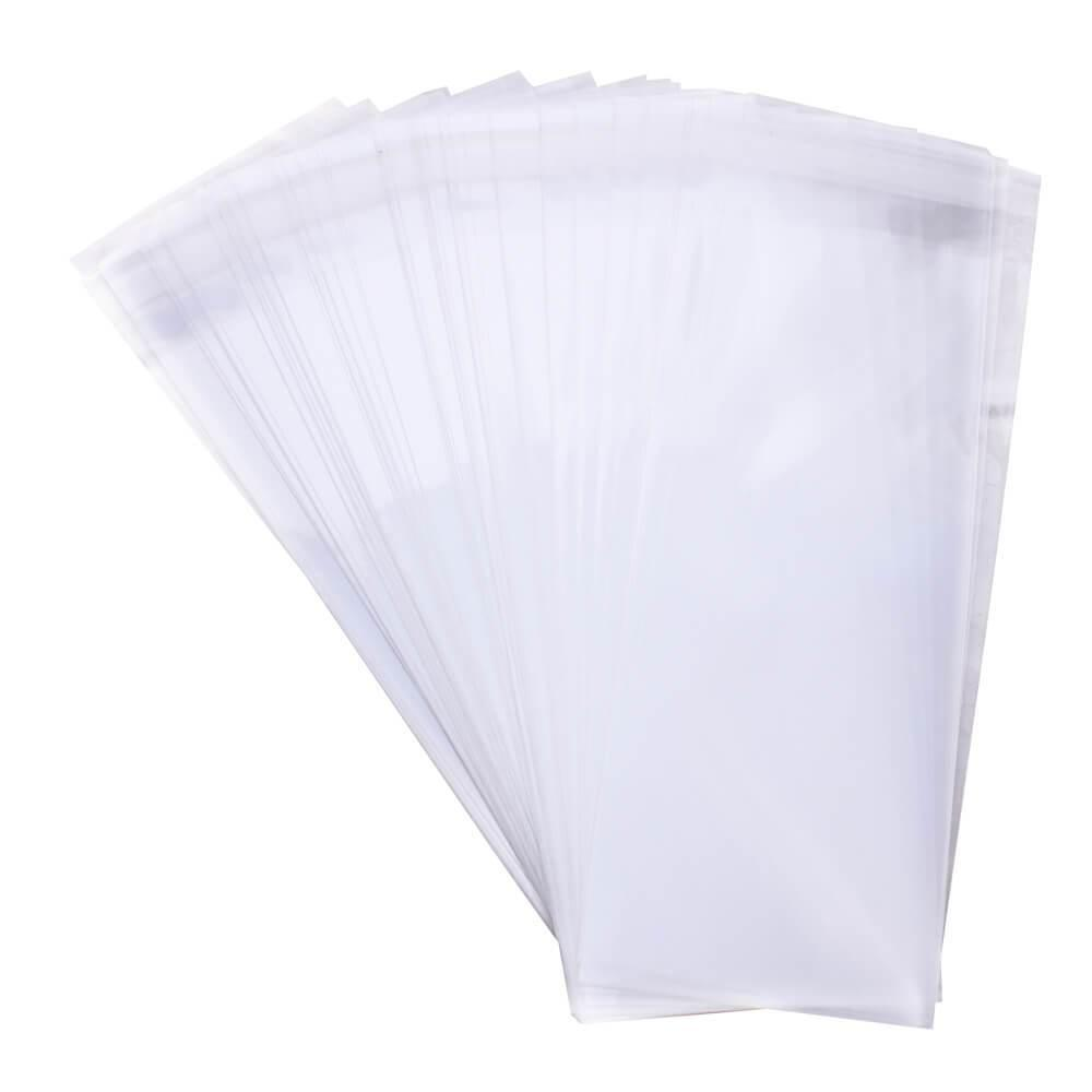 RESEALABLE BAGS 75MM X 180MM - 100 PACK