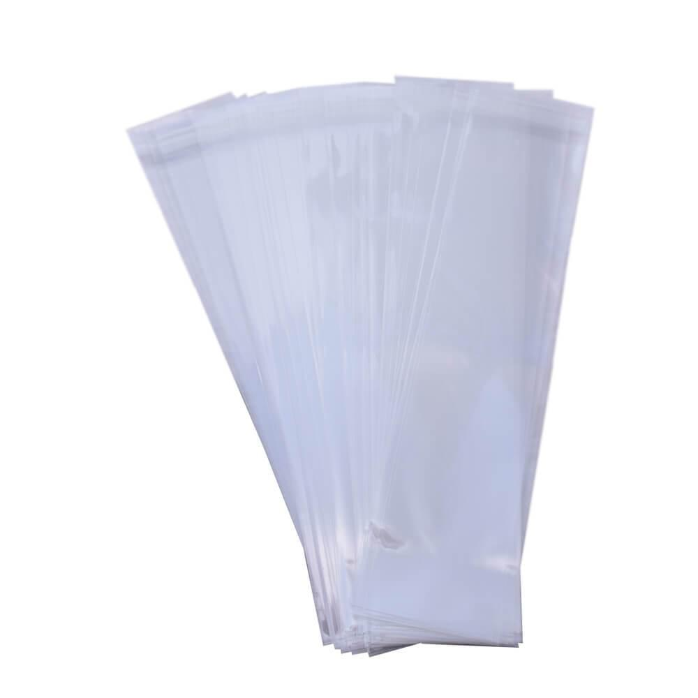 RESEALABLE BAGS 75MM X 300MM - 100 PACK