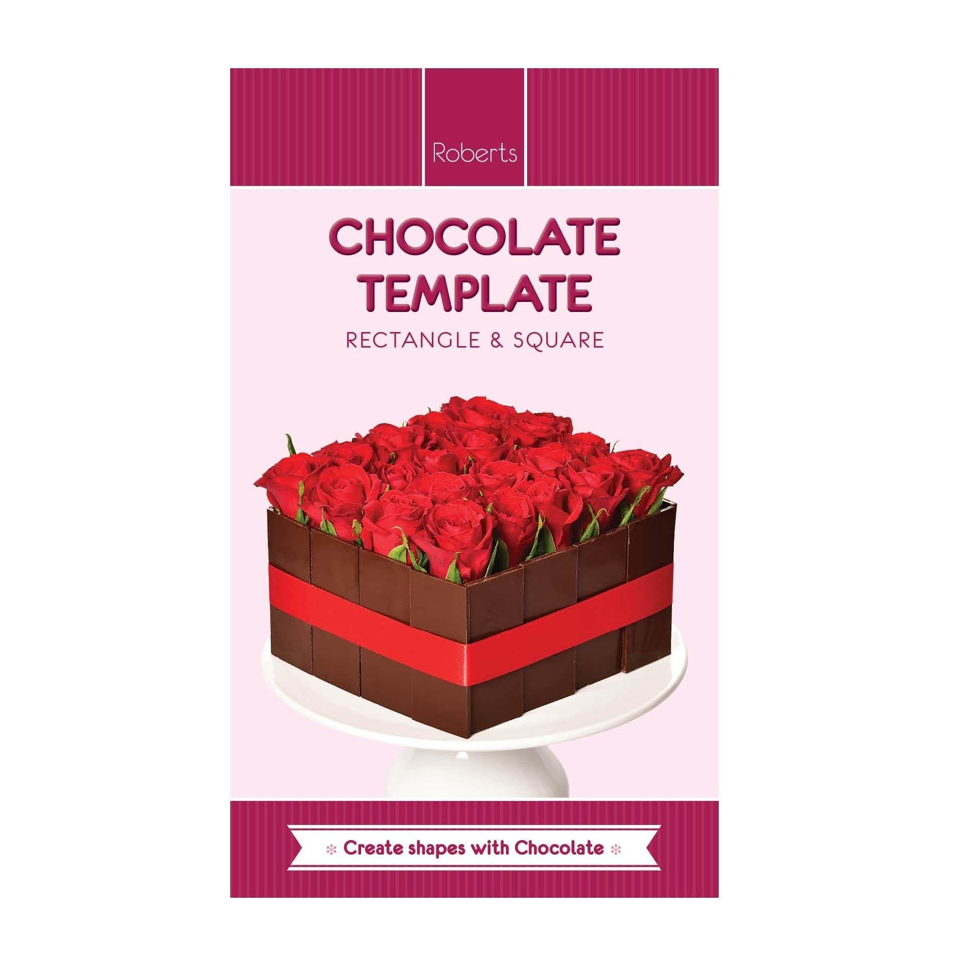Rectangle & Square Acrylic Chocolate Template
