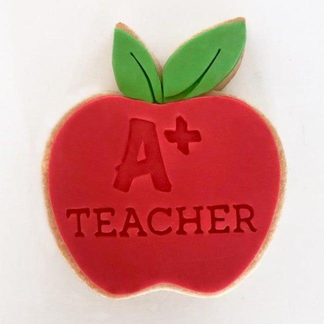A+ TEACHER EMBOSSER 40MM by Little Biskut