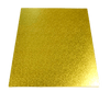 RECTANGLE 12IN X 14IN GOLD MDF BOARD