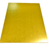 RECTANGLE 16IN X 20IN GOLD MDF BOARD
