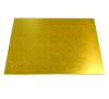 RECTANGLE 18IN X 24IN GOLD MDF BOARD
