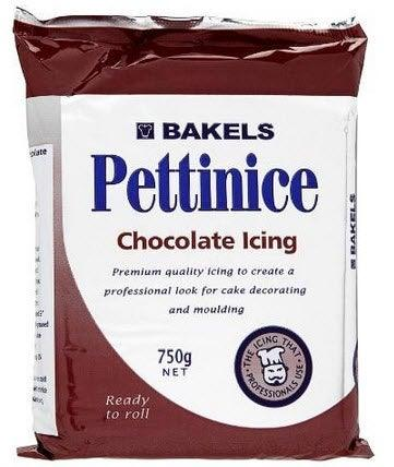 BAKELS CHOCOLATE RTR fondant icing 750g