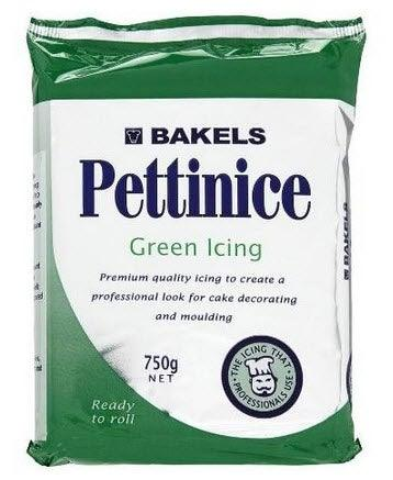 BAKELS GREEN RTR fondant icing 750g