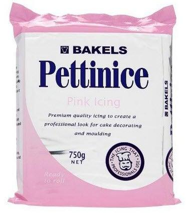 BAKELS PINK RTR fondant Icing 750g