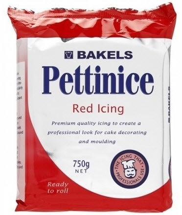 BAKELS RED RTR fondant Icing 750g