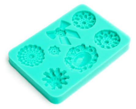 Silicone Mould BROOCHES