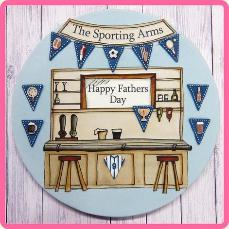 Katy Sue Mould BUNTING FOR BOYS