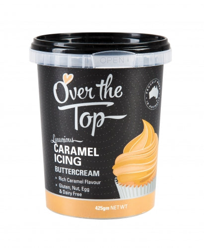 OVER THE TOP CARAMEL BUTTERCREAM 425G