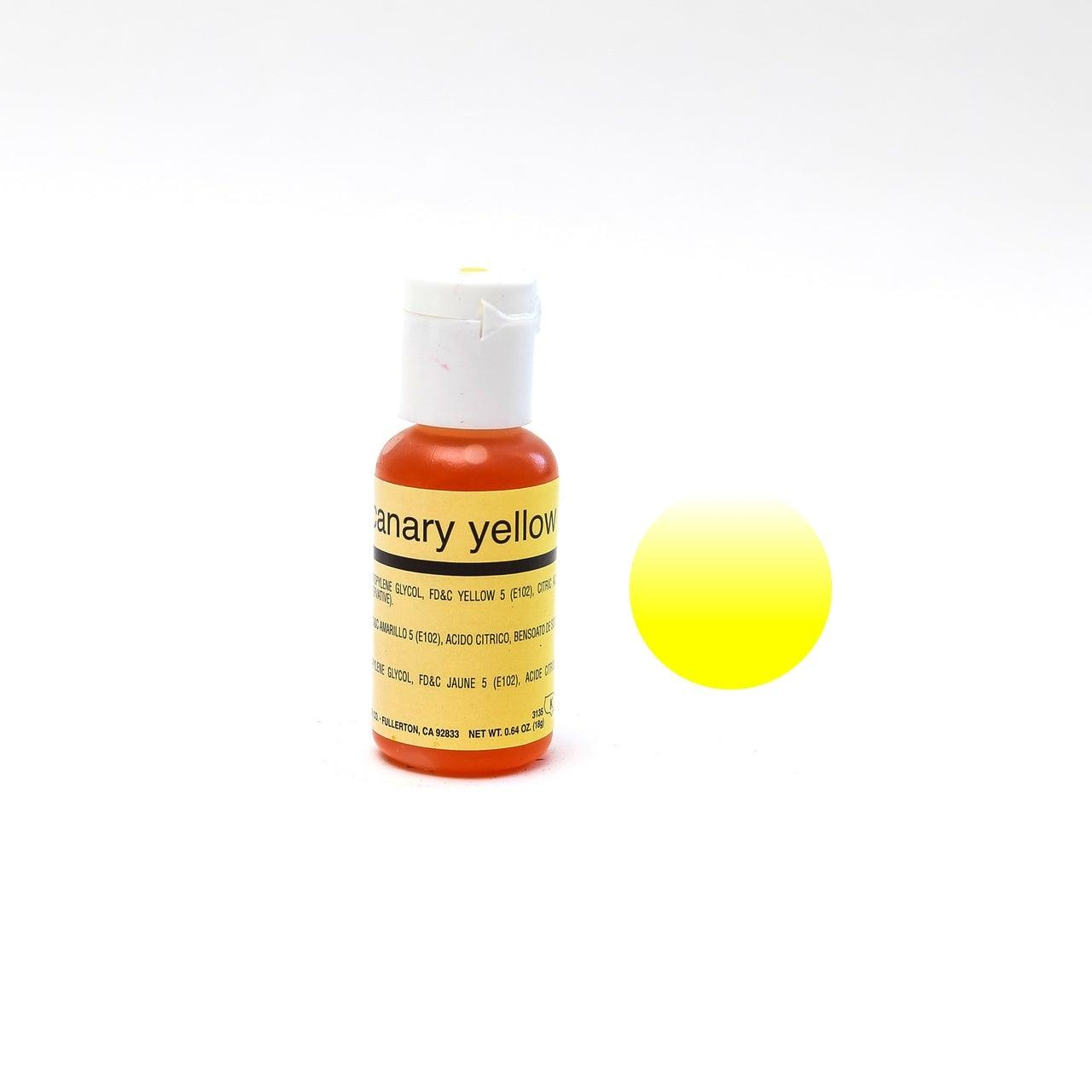 Chefmaster CANARY YELLOW Airbrush 18ml
