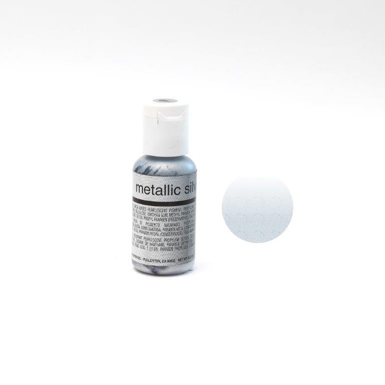Chefmaster METALLIC SILVER Airbrush 18ml