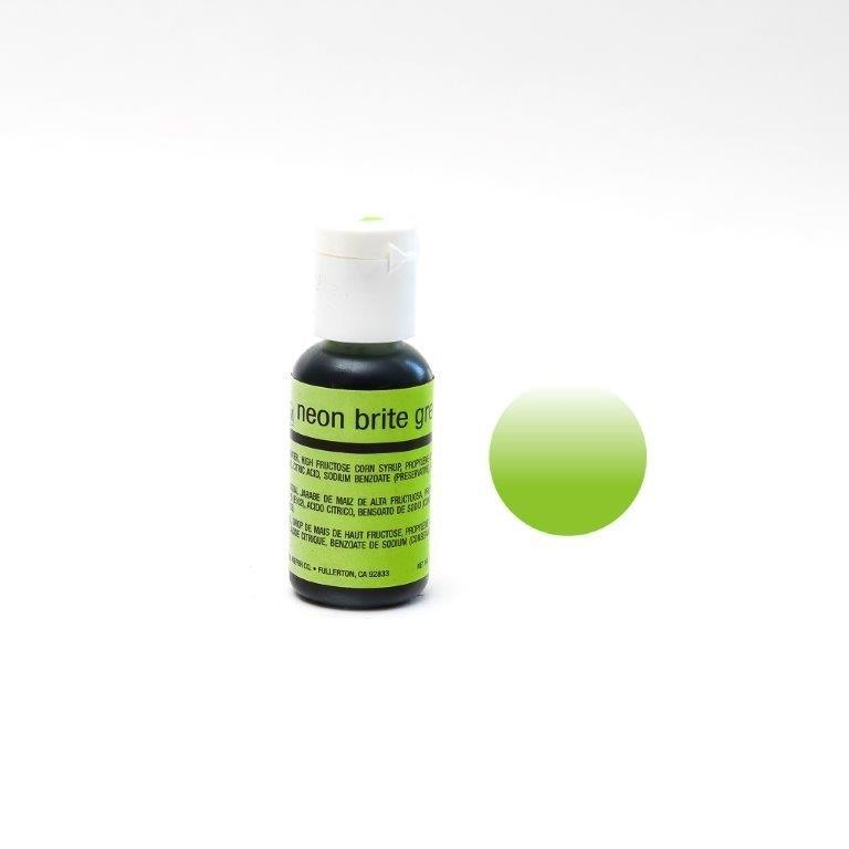 Chefmaster NEON GREEN Airbrush 18ml