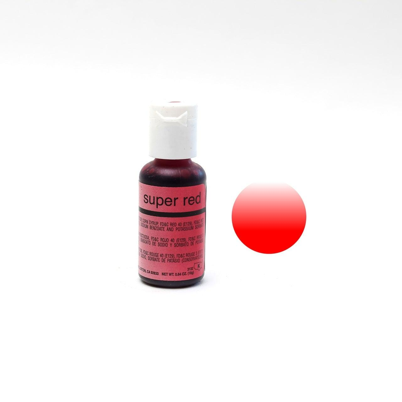 Chefmaster SUPER RED Airbrush 18ml