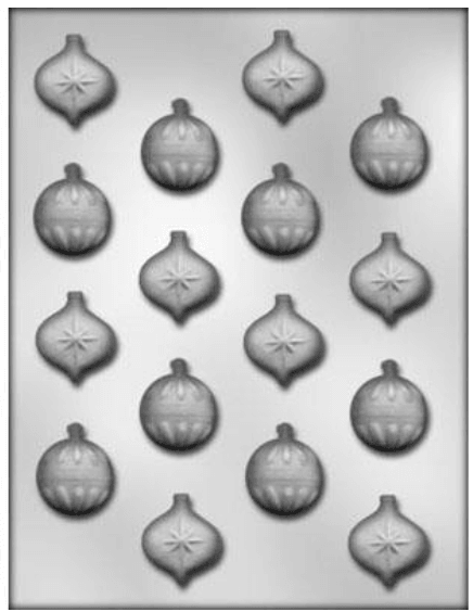 Chocolate Mould CHRISTMAS ORNAMENT