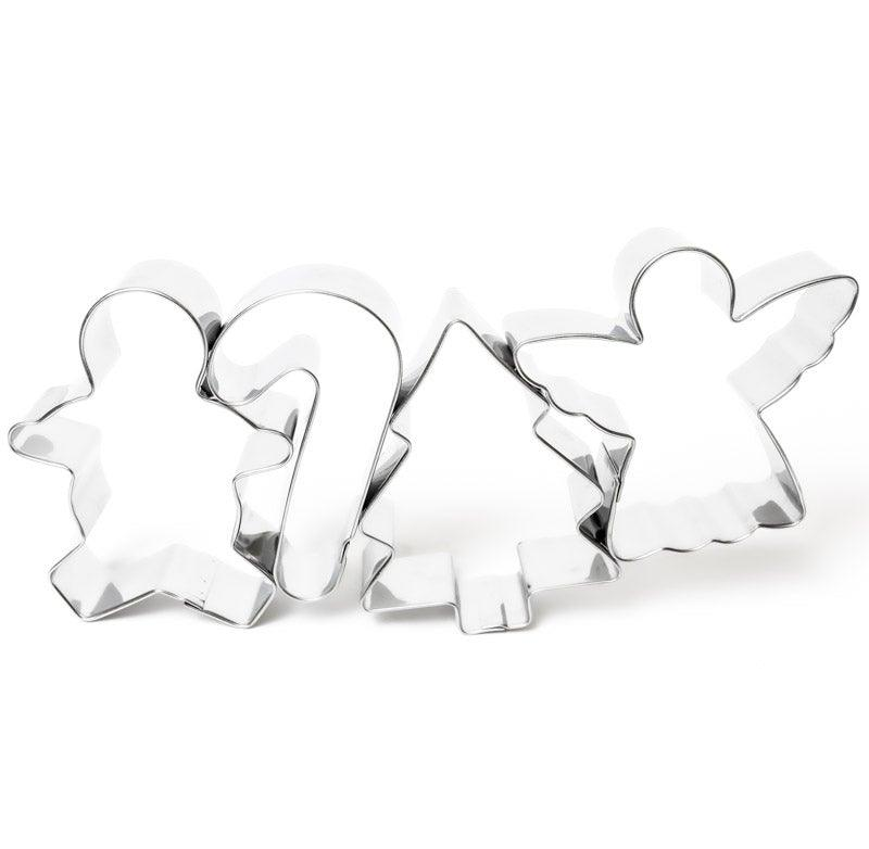COOKIE CUTTERS CHRISTMAS 4 PACK