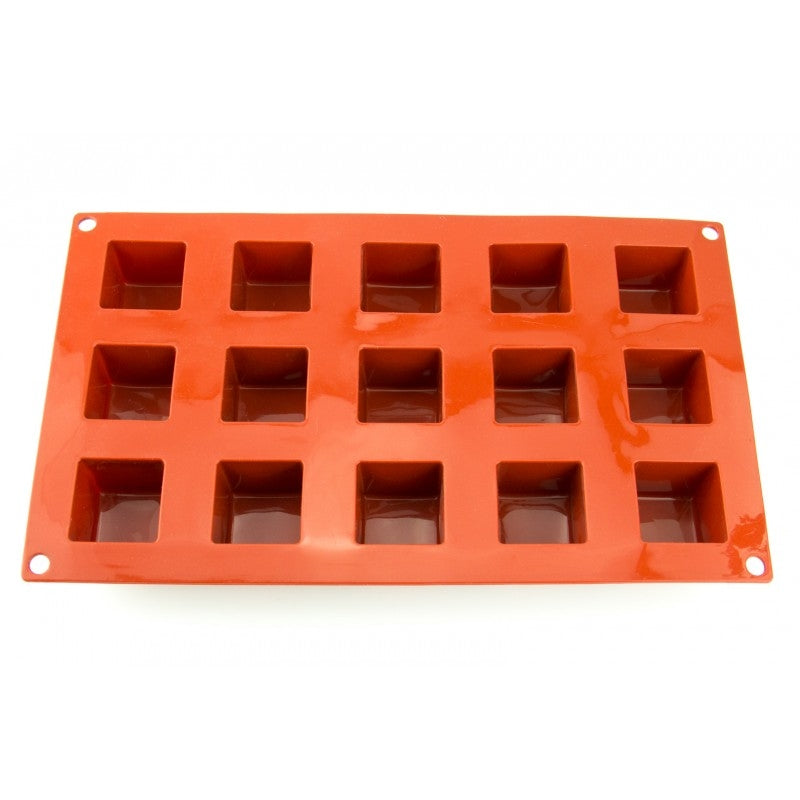 CUBE 35mm chocolate mould 15 cavity