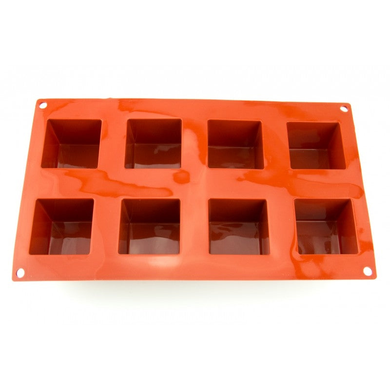 CUBE 50mm chocolate mould 8 cavity