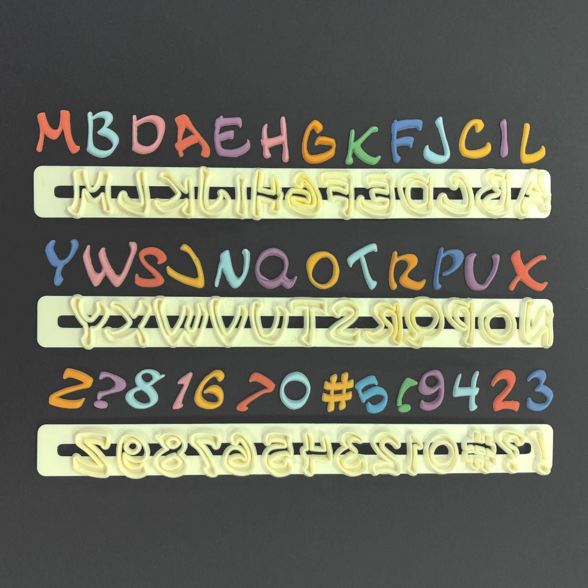 FMM MAGICAL Alphabet and Number tappit set