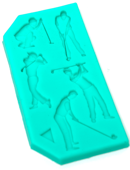 Silicone Mould GOLF