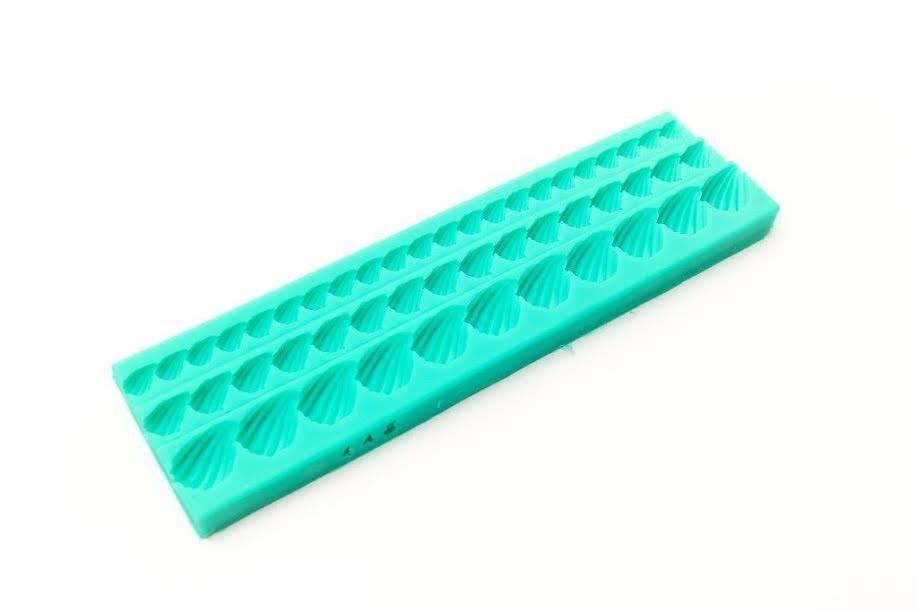 Silicone Mould ICING SHELL BORDER