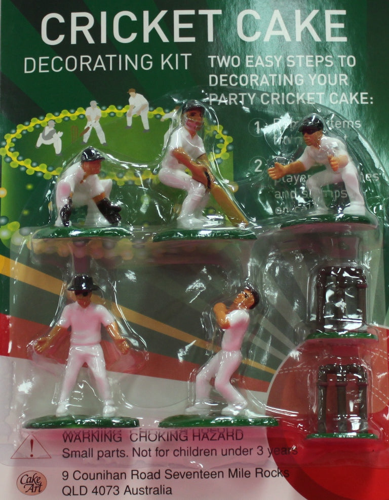 Cricket Cake Decorating Set