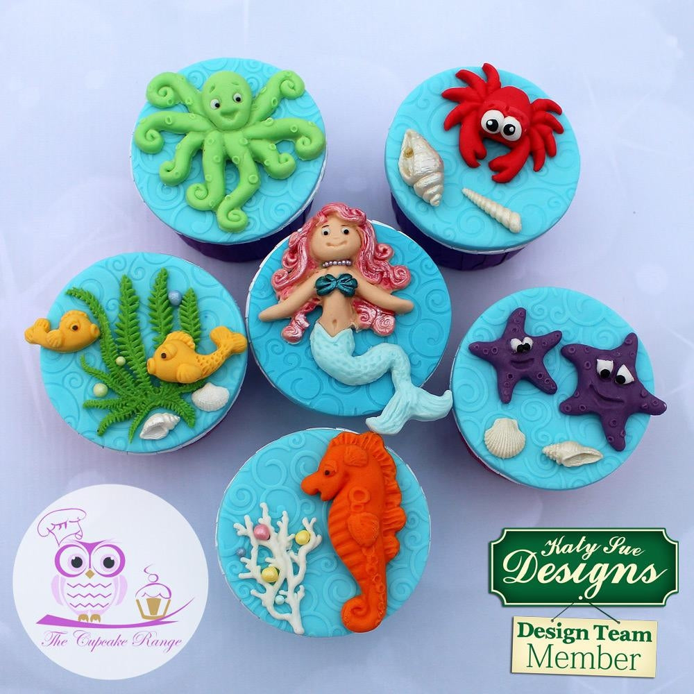 Katy Sue SUGAR BUTTONS LITTLE MERMAID Mould