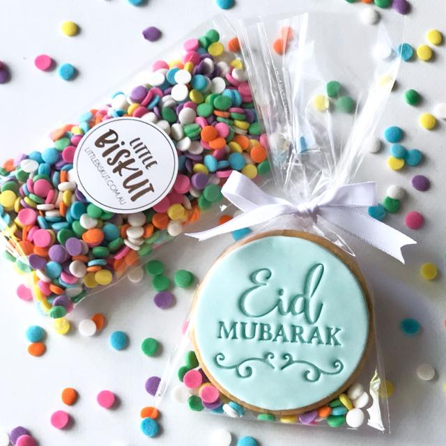 EID MUBARAK 40MM COOKIE EMBOSSER by Little Biskut