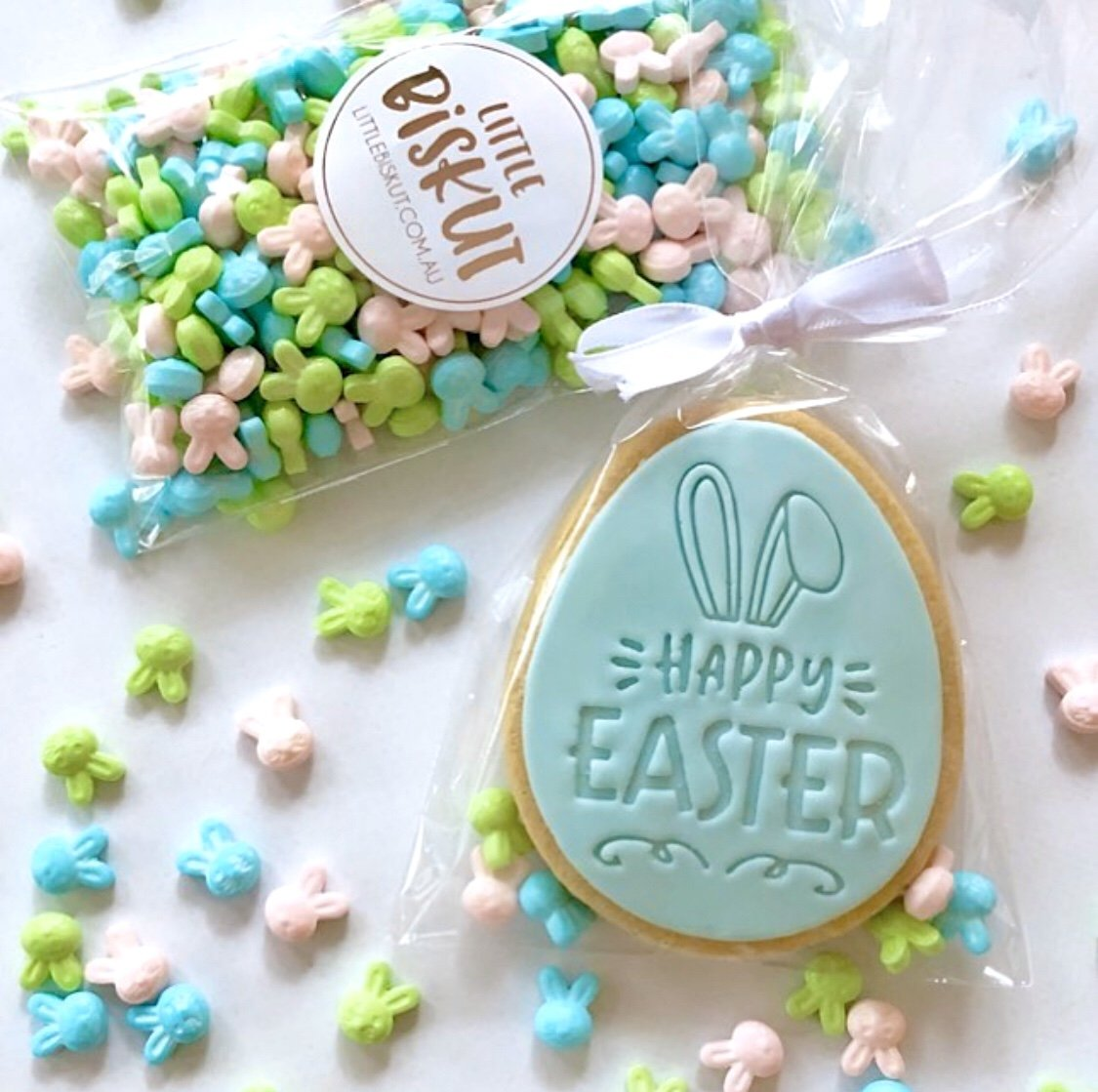 HAPPY EASTER 60MM EMBOSSER by Little Biskut