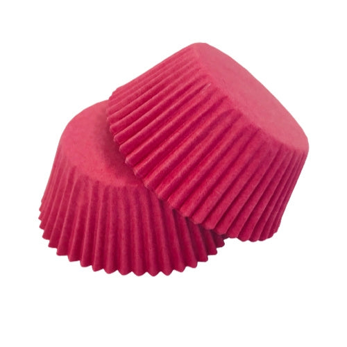 LOLLY PINK Mini Cupcake Papers 50pk