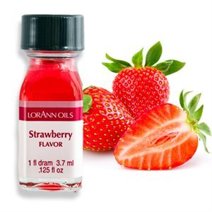 Lorann STRAWBERRY Flavour 1 dram (3.7ml)