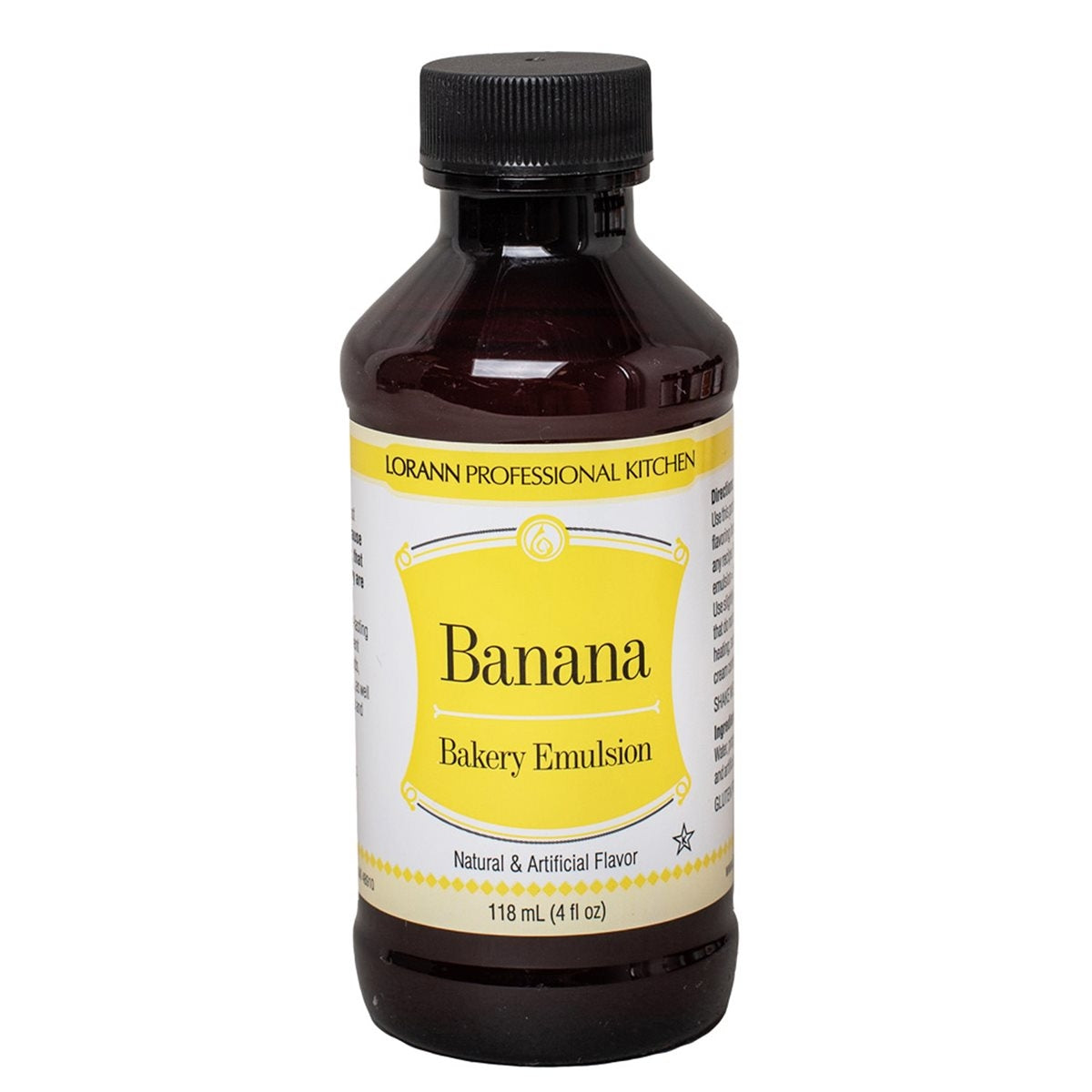 Lorann BANANA Flavour Emulsion 118ml