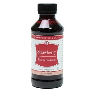 Lorann STRAWBERRY Flavour Emulsion 118ml