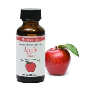 Lorann APPLE Super Strength Flavour 1oz (30ml)