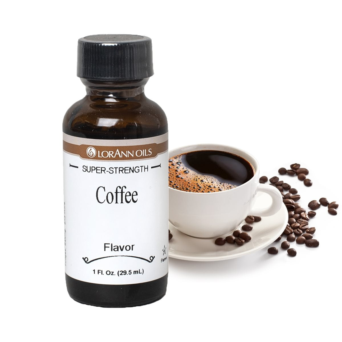 Lorann COFFEE Super Strength Flavour 1oz (30ml)
