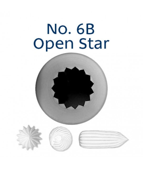 Loyal Piping Tip 6B OPEN STAR