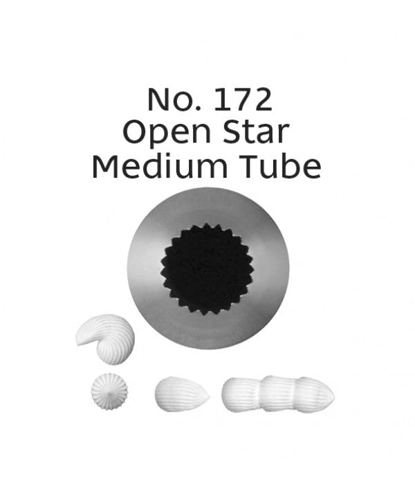 Loyal Piping Tip 172 OPEN STAR