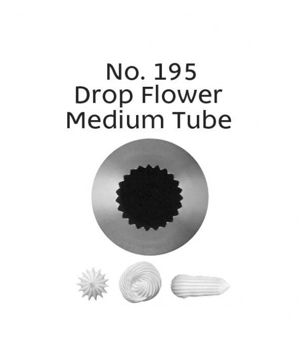 Loyal Piping Tip 195 DROP FLOWER