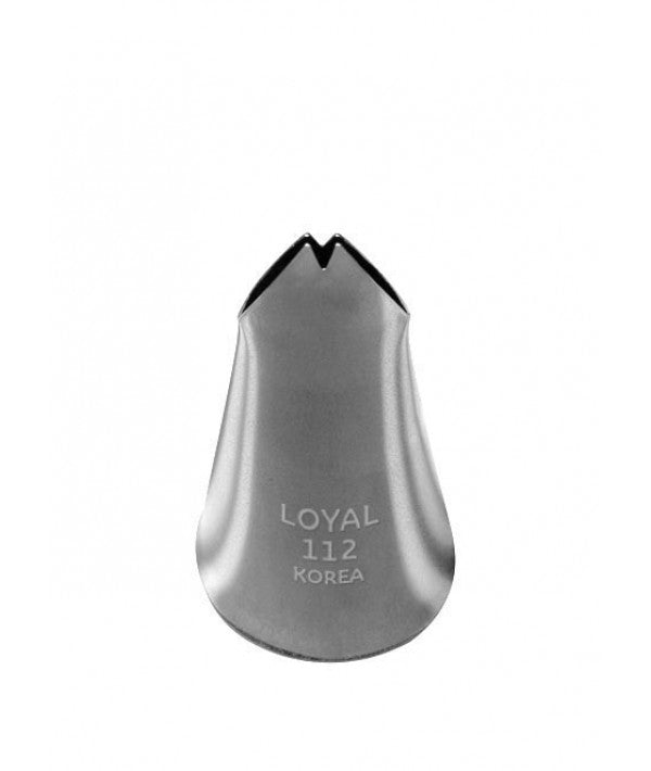 Loyal Piping Tip 112 LEAF