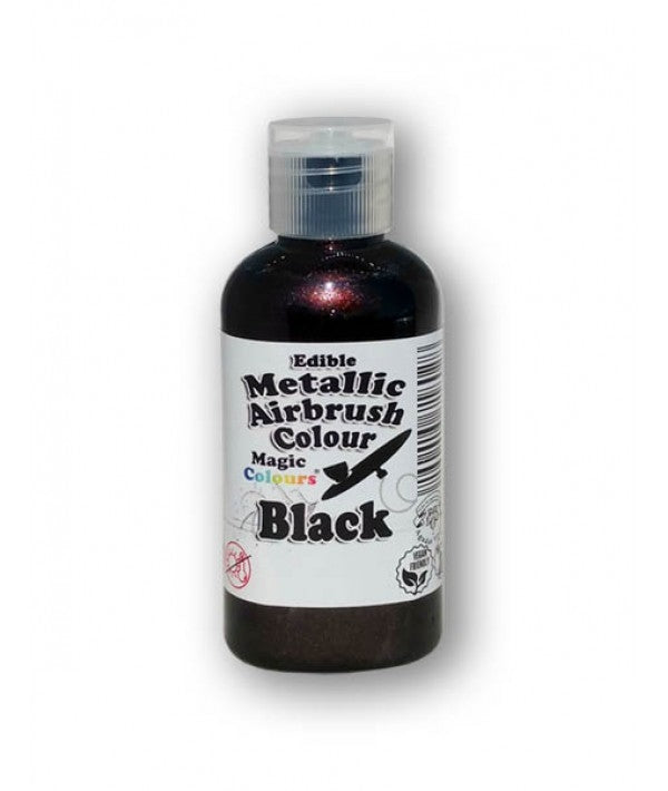 Magic Airbrush Colour METALLIC BLACK