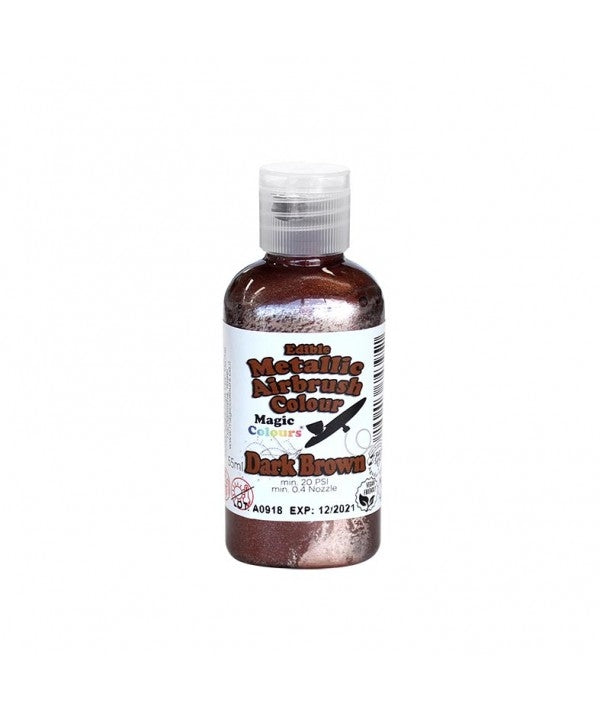 Magic Airbrush Colour METALLIC DARK BROWN