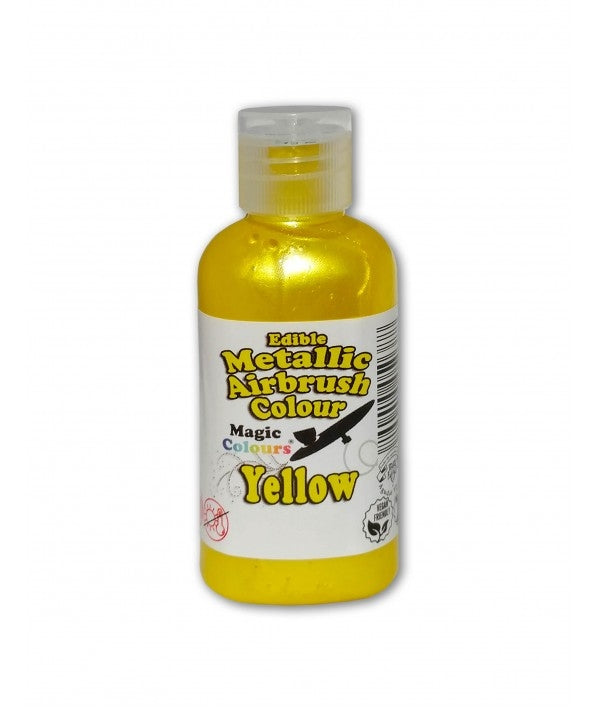 Magic Airbrush Colour METALLIC YELLOW