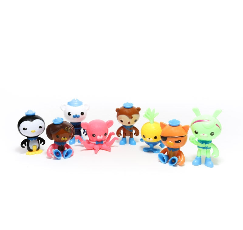 Octonauts Cake Topper set of 8